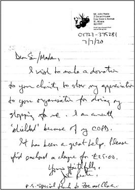 compassionate community connector programme letter 1